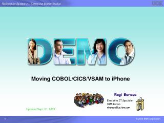 Moving COBOL/CICS/VSAM to iPhone