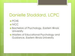 Danielle Stoddard, LCPC