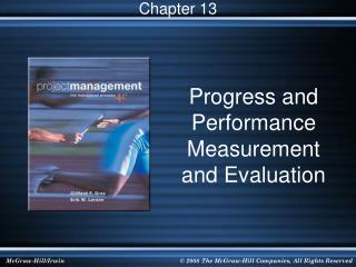 Progress and Performance Measurement and Evaluation