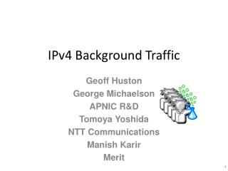 IPv4 Background Traffic