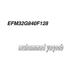 EFM32G840F128