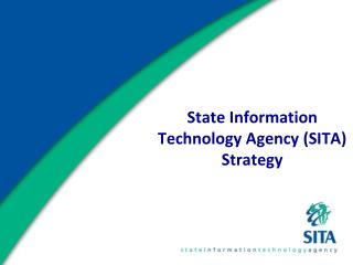 State Information Technology Agency (SITA) Strategy