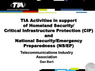 Telecommunications Industry Association Dan Bart