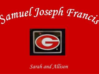 Sarah and Allison