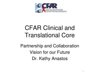 CFAR Clinical and Translational Core