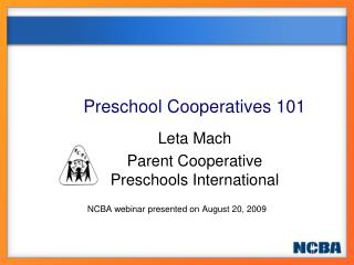 Preschool Cooperatives 101