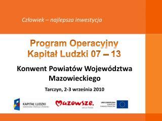Konwent Powiatów Województwa Mazowieckiego Tarczyn, 2-3 września 2010