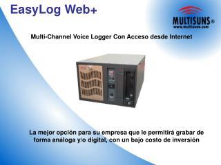 EasyLog Web+