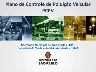 Plano de Controle de Poluição Veicular PCPV