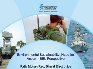 Environmental Sustainability: Need for Action – BEL Perspective