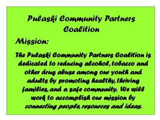Pulaski Community Partners Coalition