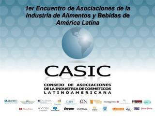 1er Encuentro de Asociaciones de la Industria de Alimentos y Bebidas de América Latina