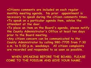 BOARD AGENDARegular Meeting PULASKI COUNTY           Monday, Sept. 28, 1998