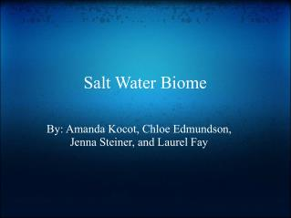 Salt Water Biome
