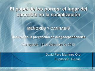 David Pere Martínez Oro Fundación IGenus