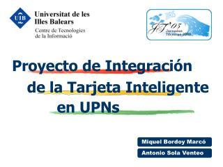 Proyecto de Integración