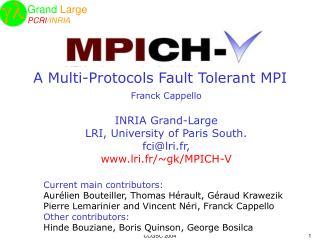 A Multi-Protocols Fault Tolerant MPI