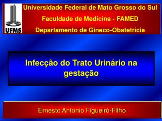 Infecção do Trato Urinário na gestação
