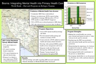 Bosnia: Integrating Mental Health into Primary Health Care