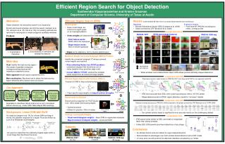 Efficient Region Search for Object Detection Sudheendra Vijayanarasimhan and Kristen Grauman