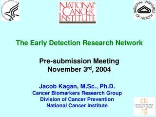 The Early Detection Research Network