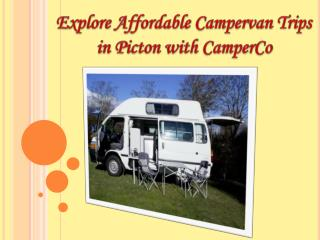 Explore Affordable Campervan Trips in Picton with CamperCo