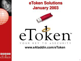 eToken Solutions January 2003