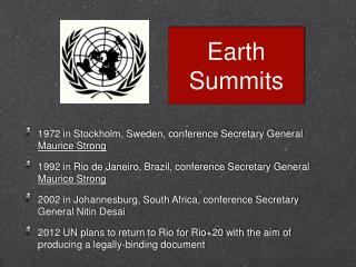 Earth Summits