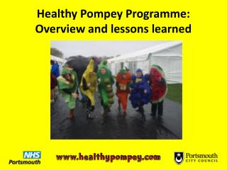 Healthy Pompey Programme:  Overview and lessons learned