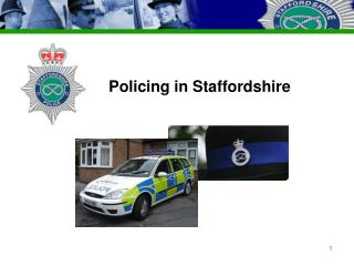 Policing in Staffordshire