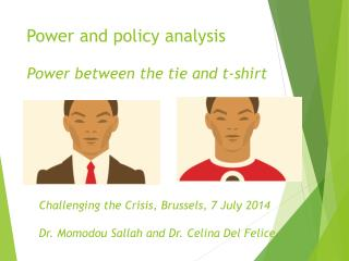 Power and policy analysis