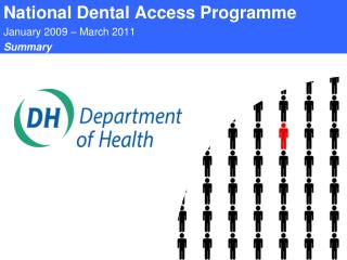 National Dental Access Programme January 2009 – March 2011 Summary