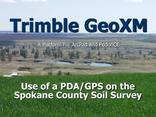 Trimble GeoXM
