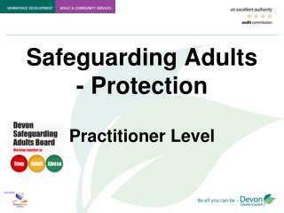 Safeguarding Adults - Protection