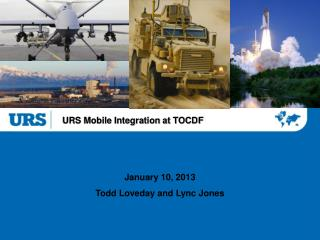 URS Mobile Integration at TOCDF