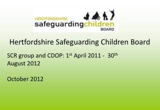 Hertfordshire Safeguarding Children Board