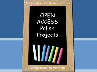 OPEN  ACCESS Polish  P rojects