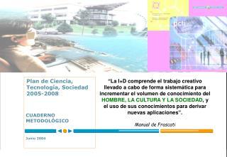 CUADERNO METODOLÓGICO Junio 2004