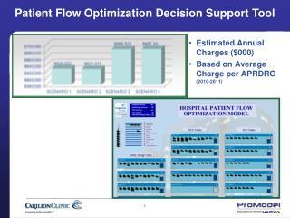 Patient Flow Optimization Decision Support Tool
