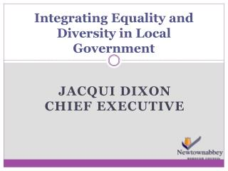 Integrating Equality and Diversity in Local Government
