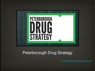 Peterborough Drug Strategy