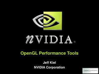 OpenGL Performance Tools