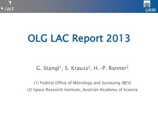 OLG LAC Report 2013