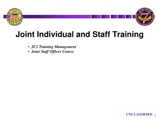 Joint Individual and Staff Training