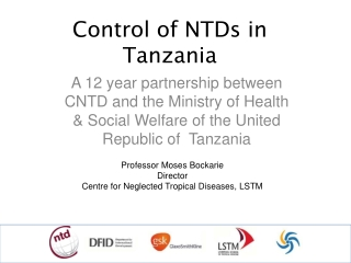 Neglected Tropical Diseases NTDs in Africa