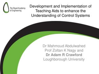 Development and Implementation of Teaching Aids to enhance the Understanding of Control Systems