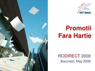 Promotii Fara Hartie