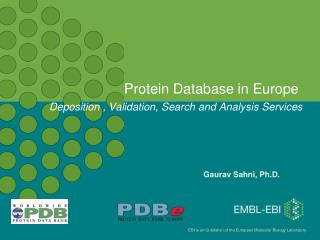 Protein Database in Europe