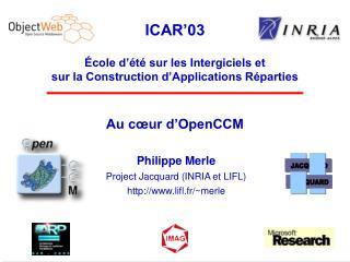 Au cœur d'OpenCCM