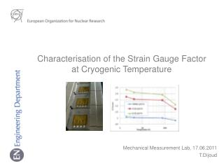 Mechanical Measurement Lab , 17.06.2011 T.Dijoud